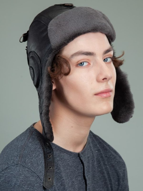 aviator mad bomber fur hat mens