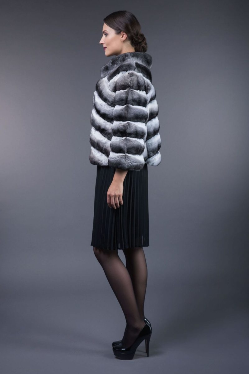 chinchilla fur jacket